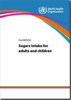成人及び子どものための糖類の摂取に関するガイドライン