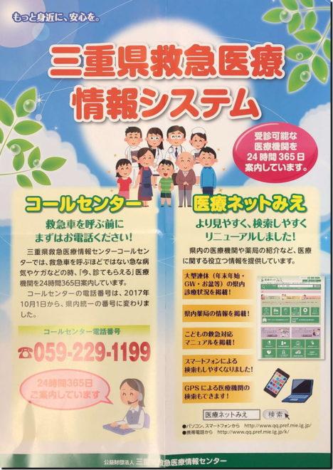 三重県救急医療情報システム
